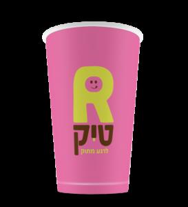 כוס שתיה קרה